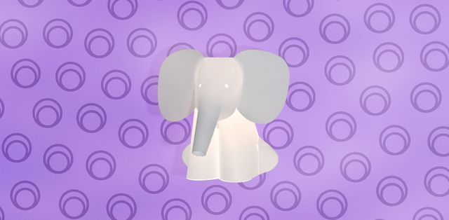elefante piccolo / trophy small DIY